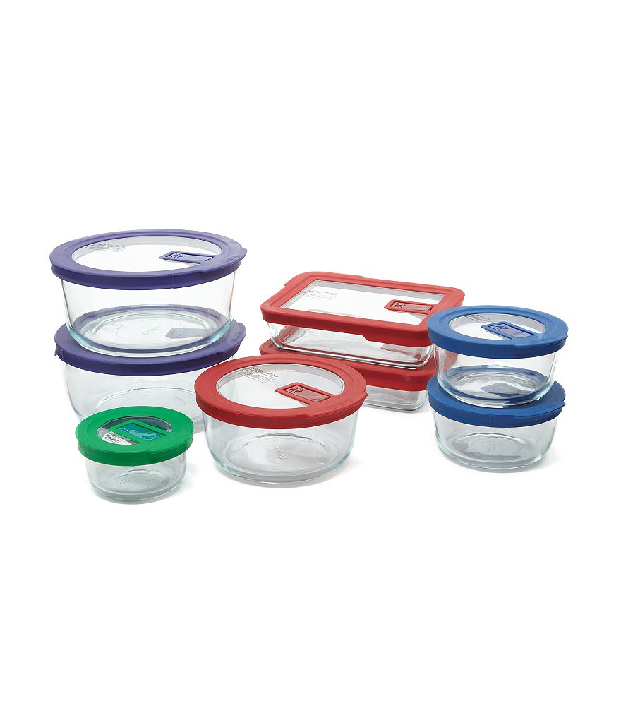 Pyrex No-Leak Storage Containers