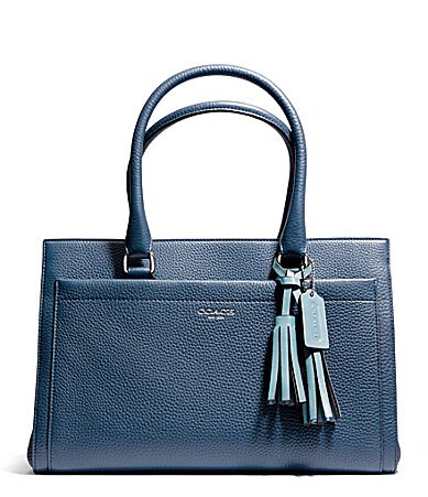 COACH LEGACY CHELSEA CARRYALL IN PEBBLED LEATHER