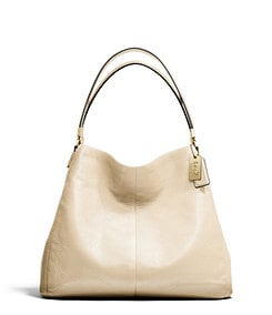 COACH MADISON SMALL PHOEBE SHOULDER BAG IN LEATHER