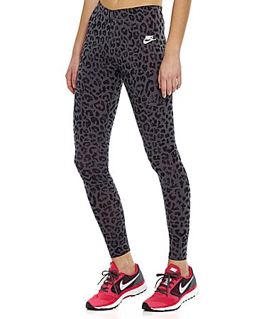 Nike Lifestyle Leg-A-See Cheetah-Print Leggings