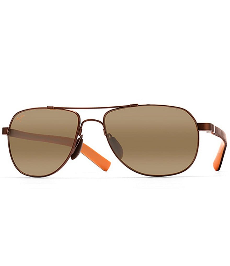 Maui Jim Copper Guardrails Polarized Glare and UV Protection Sunglasses