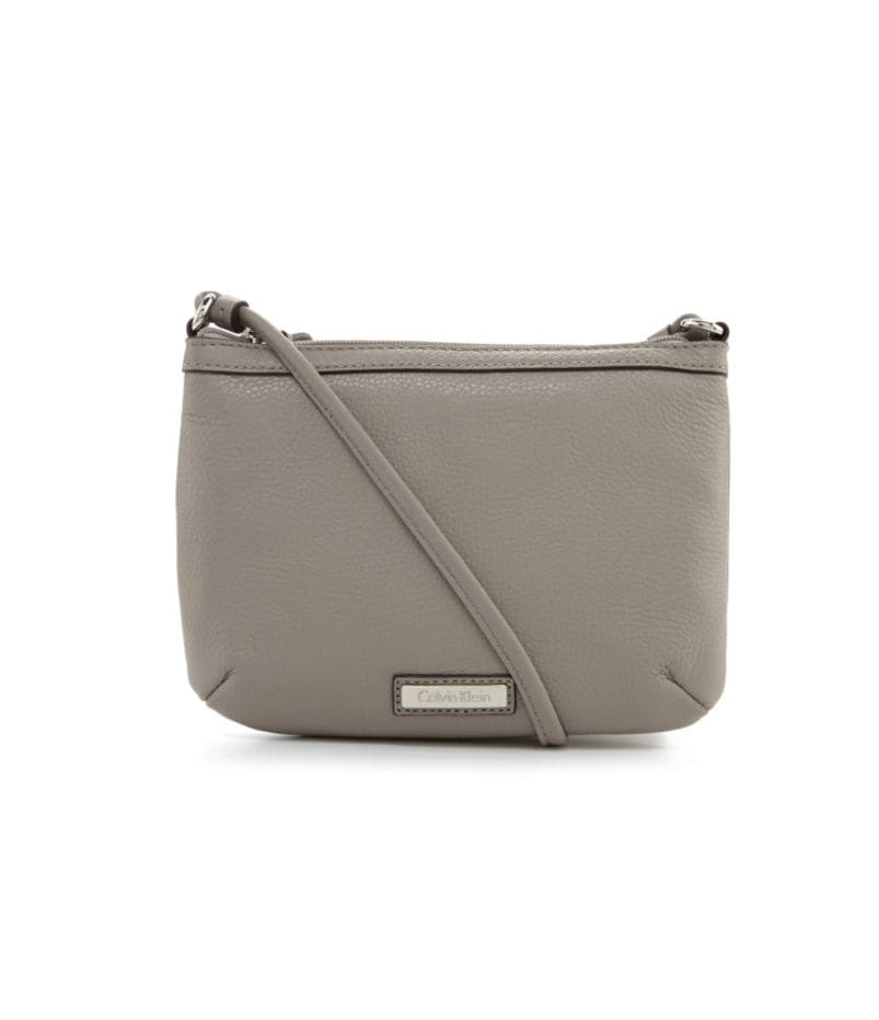 Calvin Klein Leather Cross-Body Bag