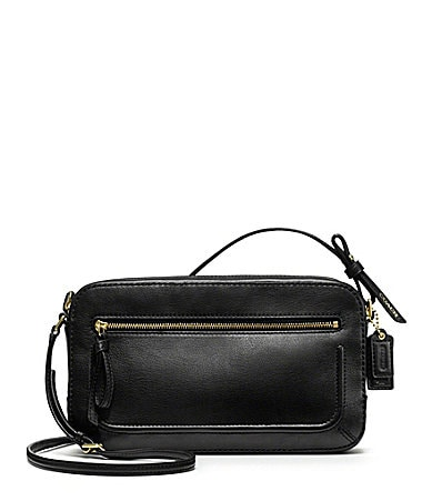 COACH POPPY LEATHER FLIGHT BAG