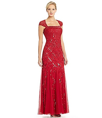 Red Evening Gowns Dillards 21