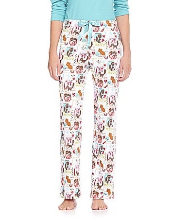 Sleep Sense Cat Print Pants