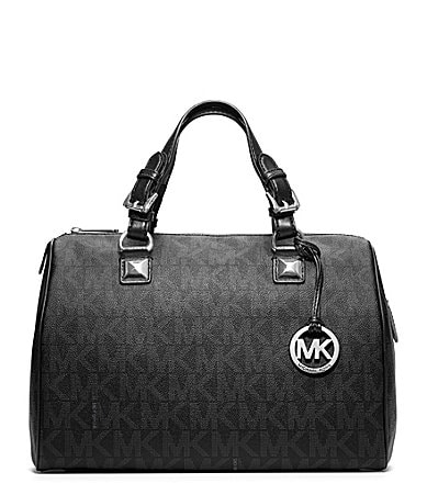 MICHAEL Michael Kors Signature Grayson Large Satchel