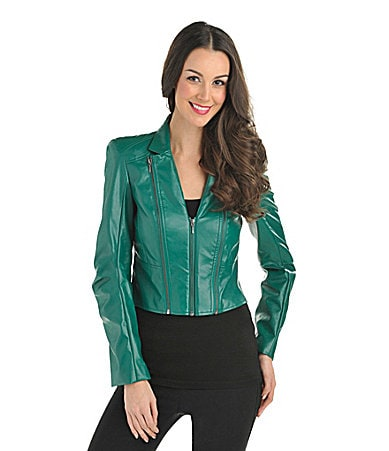 Bianca Nygard Faux-Leather Jacket