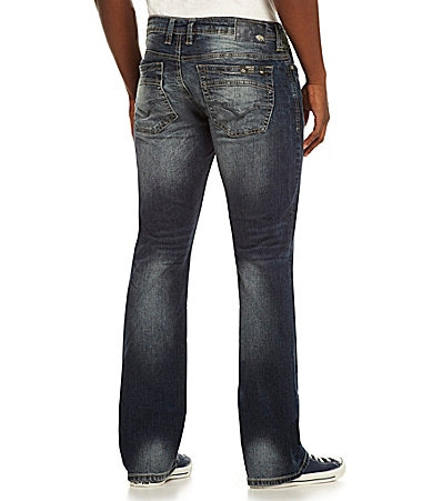 Buffalo David Bitton King-Newport Slim Bootcut Jeans