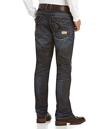 Buffalo David Bitton Six-Sheeba Slim Straight-Leg Jeans