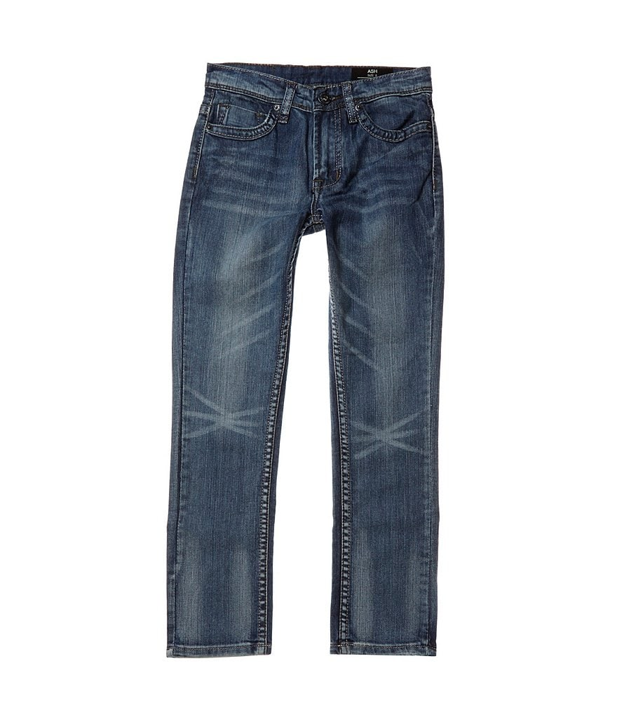 Buffalo David Bitton Big Boys 8-20 Ash Skinny-Fit Denim Jeans