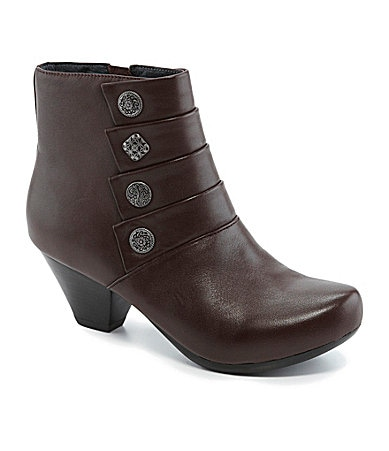 Dansko Baker Leather Booties