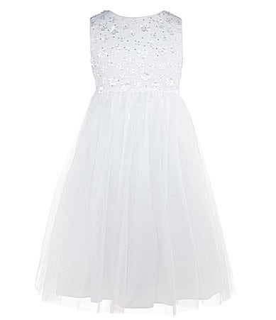 Pippa & Julie 7-10 Floral Bodice Ballerina Dress
