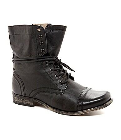 shop all steve madden steve madden men s troopah 2 combat boots   99    Steve Madden Combat Boots Men