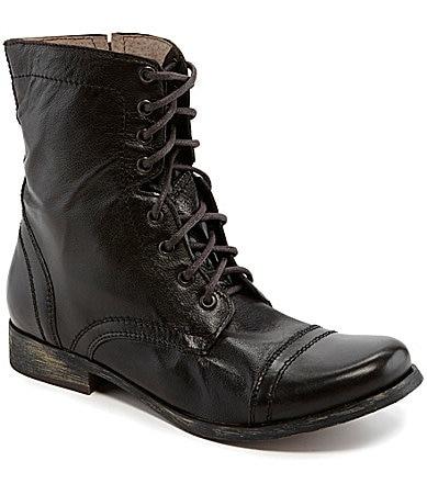 shop all steve madden steve madden men s troopah 2 combat boots print    Steve Madden Combat Boots Men