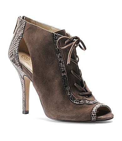 Isola Brea Peep-Toe Booties