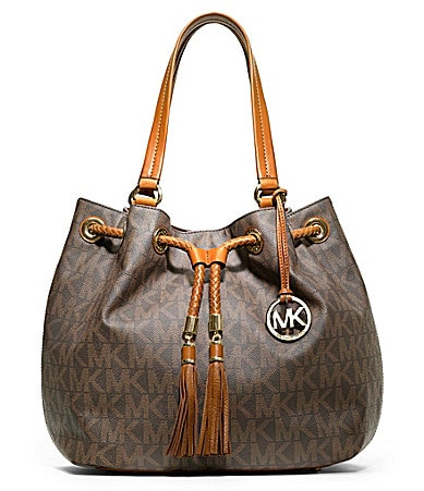 MICHAEL Michael Kors Signature Jet Set Gathered Tote