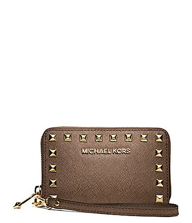 MICHAEL Michael Kors Selma Stud Multi-Function Phone Case
