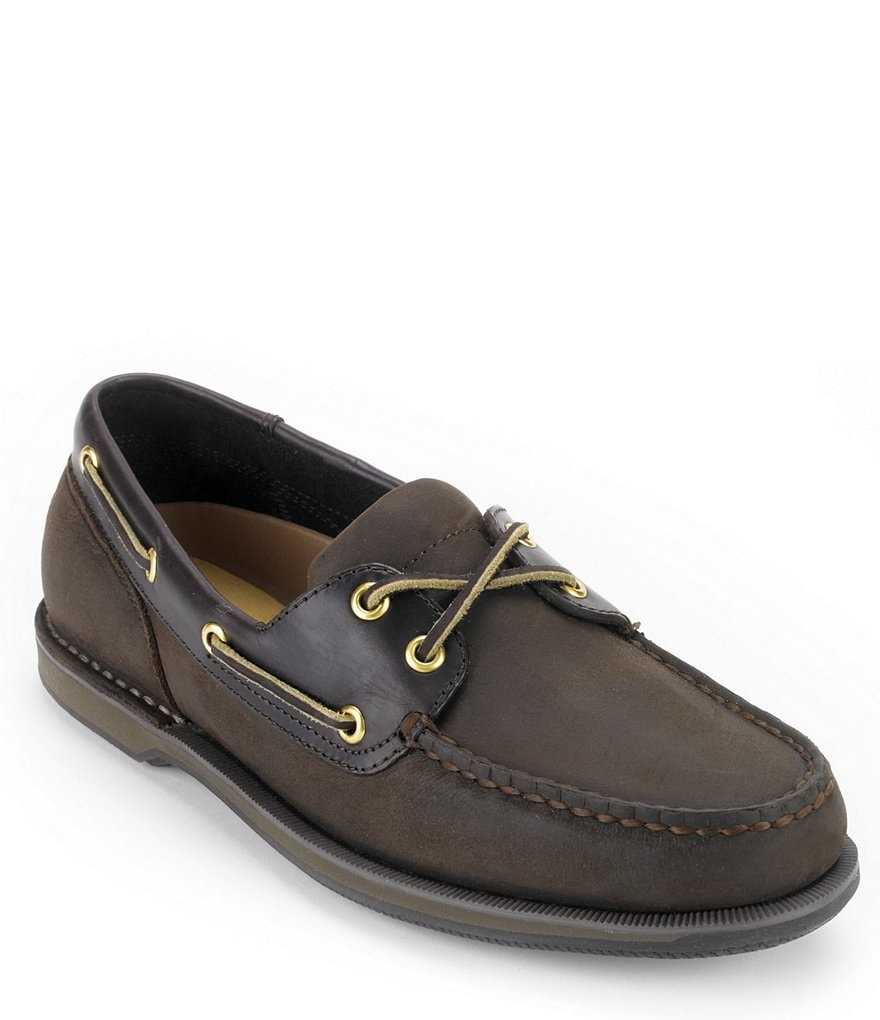 rockport perth casual boat shoes dillards