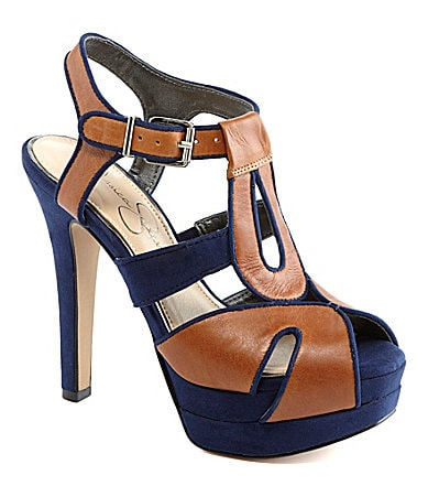 Jessica Simpson Barret Platform Sandals