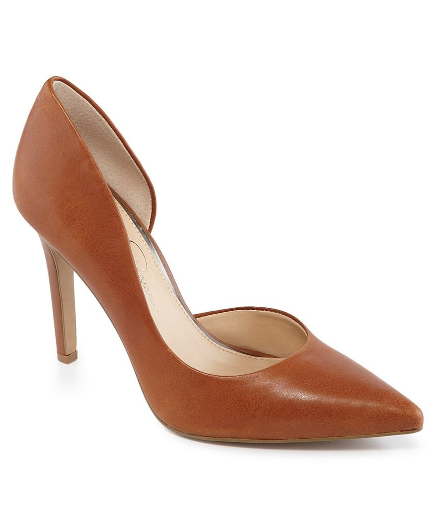 Jessica Simpson Claudette Pointed-Toe d'Orsay Pumps