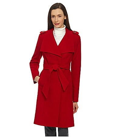Preston & York Belted Wrap Coat