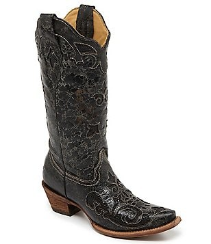 Corral Boots Vintage Lizard Inlay Boots