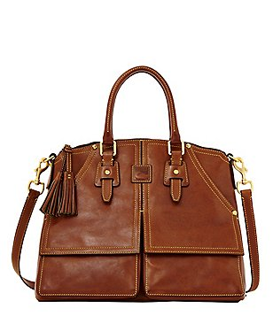Dooney & Bourke Florentine Clayton Tasseled Satchel