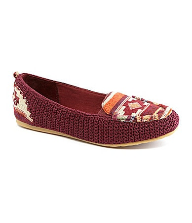 The Sak Lisa Tribal-Print Flats