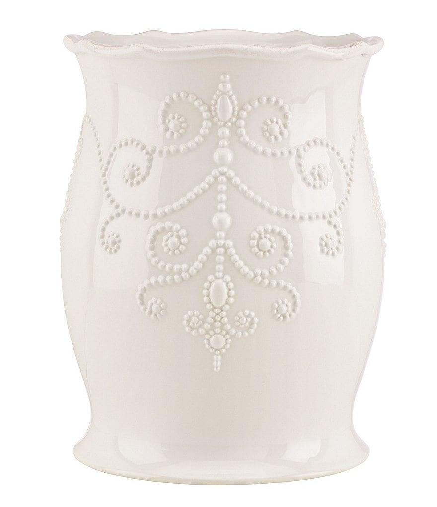 Lenox French Perle Wastebasket