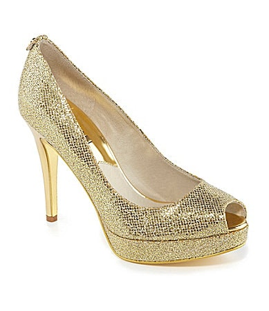 MICHAEL Michael Kors York Peep-Toe Pumps
