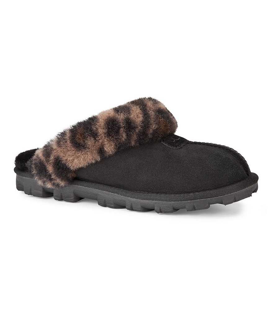 UGG® Coquette Leopard Slippers