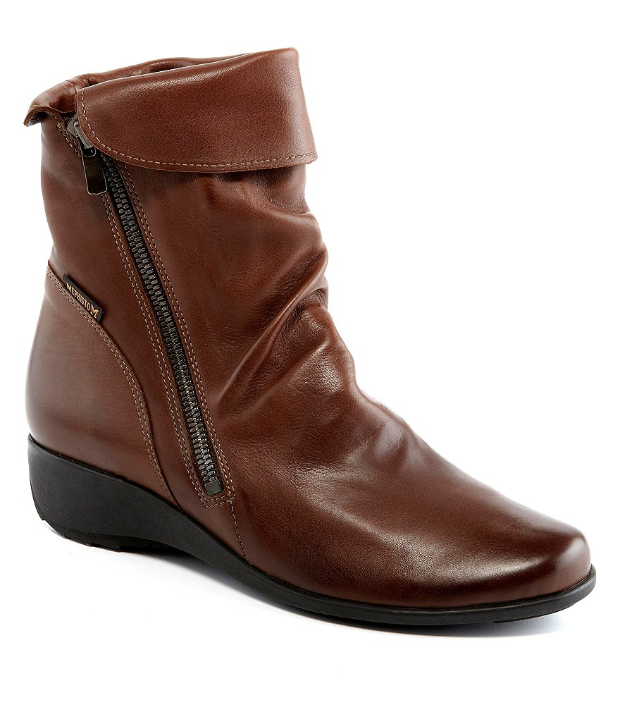 Mephisto Seddy Wedge Booties