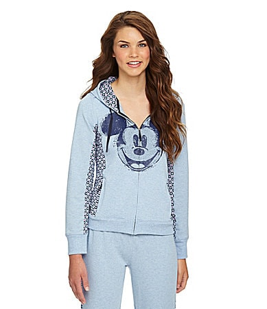 Disney Luxe Zip-Up Mickey Mouse Hoodie