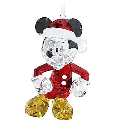 Swarovski mickey mouse christmas ornament dillards com