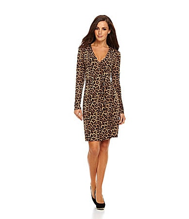 MICHAEL Michael Kors Jaguar Wrap Dress