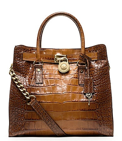 MICHAEL Michael Kors North/South Hamilton Satchel