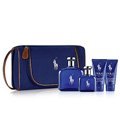 Ralph Lauren Fragrances Polo Blue Travel Gift Set