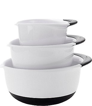 OXO Good Grips 3-Piece Mixing Bowl Set