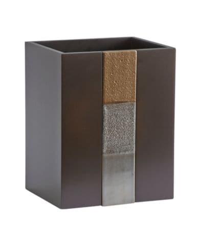Croscill tribeca wastebasket dillards for Dillards bathroom accessories sets