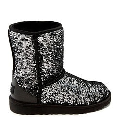 UGG� Australia Girls� Classic Sparkle Boots