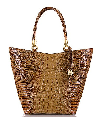 Brahmin Toasted Almond Collection Sweetheart Tote