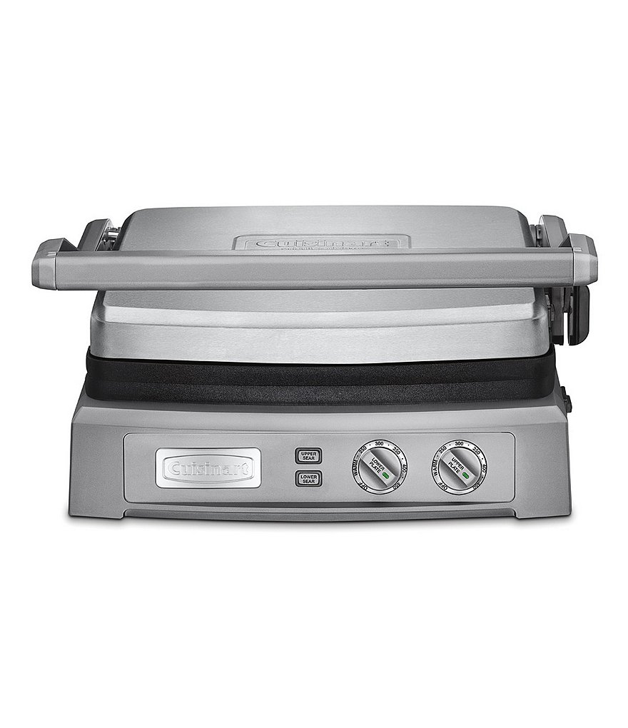 Cuisinart Brushed Stainless Steel Griddler