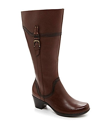 Clarks Ingalls Vicky 2 Wide-Calf Tall Riding Boots
