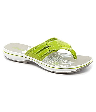 Clarks Breeze Lane Flip Flop Sandals