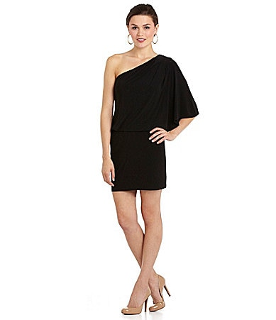 Jessica Simpson One-Shoulder Cocktail Dress