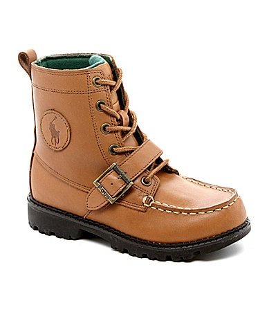 Polo Ralph Lauren Boys� Ranger High II Casual Boots