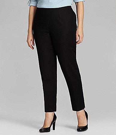 Investments II PARK AVE fit Secret Support Ankle Pants