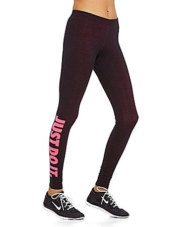 nike leg a see just do it leggings discount. Black Bedroom Furniture Sets. Home Design Ideas