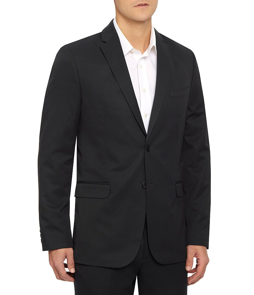 Calvin Klein Slim Ticker Stiper Blazer
