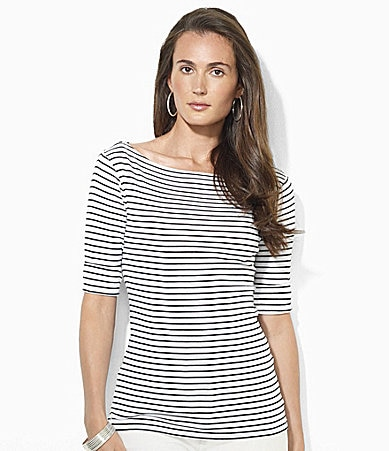 Lauren Ralph Lauren Benny Striped Shirt
